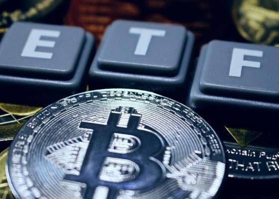 Bitcoin ETF Via Shutterstock